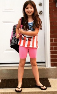Cait's last day of 1st grade